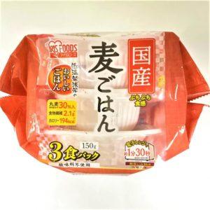 アイリスフーズ 国産麦ごはん 150g×3食パック 01