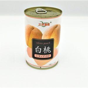 三洋通商 白桃缶 425g 01
