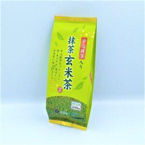 山城物産 宇治抹茶入り抹茶玄米茶 200g 01