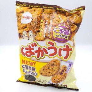 栗山米菓 ばかうけごま揚しょうゆ味 1枚×16袋入 01